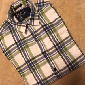 American Eagle mens Cotton Button down shirt